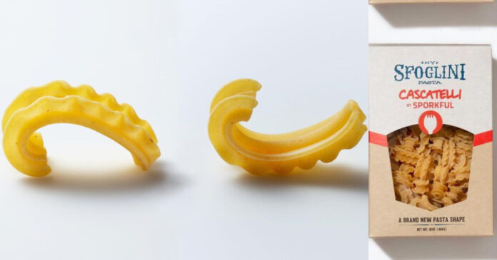 Comma Shaped Pasta